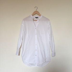 Eileen Fisher Cotton Classic White Shirt